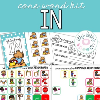 Core Word Kit - IN