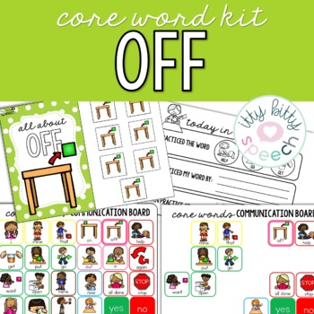 Core Word Kit - Off