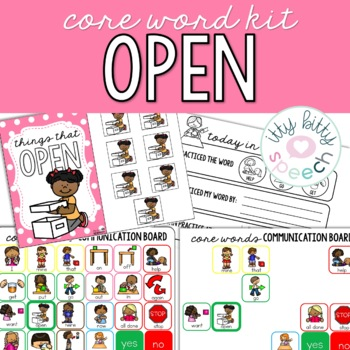 Core Word Kit - Open