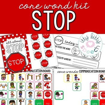 Core Word Kit - STOP