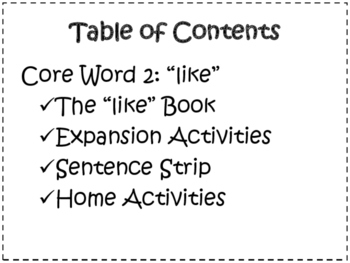 Core Word Like Packet: WordPower60 SymbolStix Vocabulary