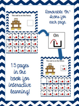 Core Word: On. Interactive Core Word Book and Comprehension Activity