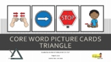 Core Word Picture Digital Cards Triangle Smarty Symbols