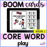 Core Word: Play (version 2): Adapted Book {distance learning}