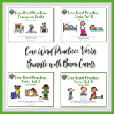 Core Word Practice: Verbs with Boom Cards