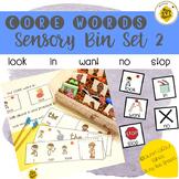 Core Word Sensory Bin for AAC Set 2