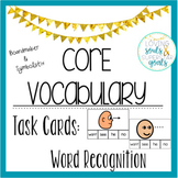 Core Word Task Cards Bundle Symbols