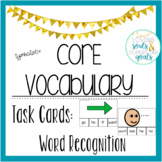 Core Word Task Cards: SymbolStix