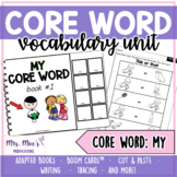 Core Word Unit: My