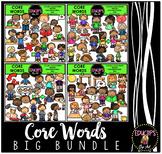 Core Words Clip Art Big Bundle {Educlips Clipart}