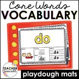 Core Vocabulary Play Dough Mats