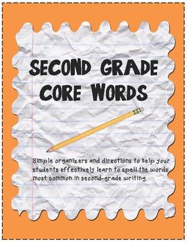 Core Words Spelling Freebie