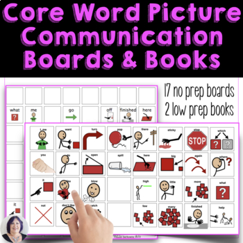 Core Words to Go Picture Communication for AAC Users