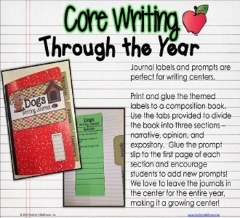 Core Writing Through the Year: December
