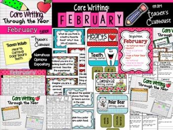 Core Writing Through the Year: February