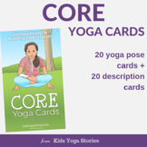 Core Yoga Cards for Kids