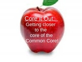 Core it out!  Common Core Staff Training on Applying the C