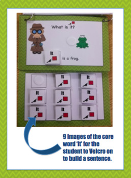 Core word 'It' Interactive Book