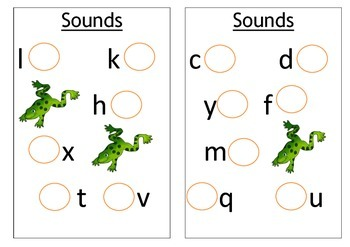 Sight words, numbers and sounds booklet