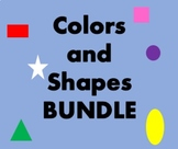 Cores e Formas (Colors and Shapes in Portuguese) Bundle