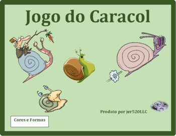 Cores e Formas (Colors and Shapes in Portuguese) Caracol S