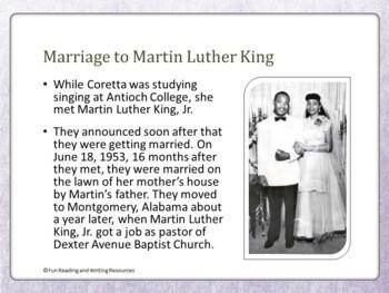 Coretta Scott King PowerPoint
