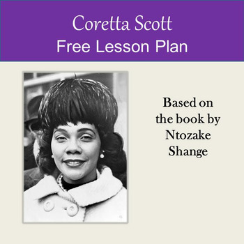 FREE Lesson Plan for Coretta Scott