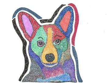 Corgi Coloring Sheets