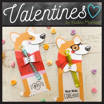 Corgi Valentine Hugger
