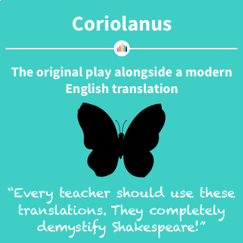 Coriolanus: the Original Play Alongside a Modern English Translation