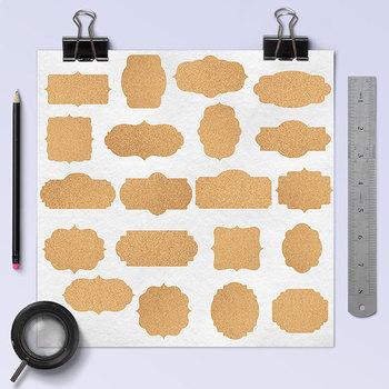 Cork Frames Clipart, Printable Labels For Scrapbooking