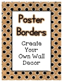 Cork Poster Frames * Create Your Own Dream Classroom / Daycare *