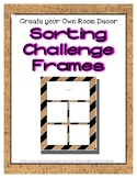 Cork Sorting Mat Frames * Create Your Own Dream Classroom