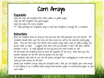 Corn Arrays