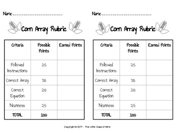 Corn Arrays