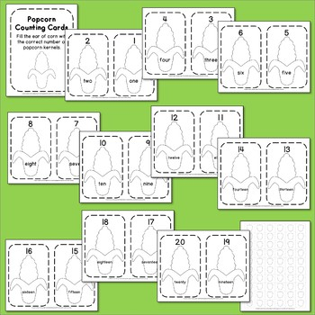 Corn Counting Cards