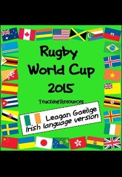 Corn Domhanda Rugbaí 2015 - Rugby World Cup teaching resou