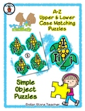Corn - Fall Harvest - Alphabet / Letter Puzzles - Simple Objects