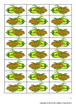 Corn Farm -or- & -ar- Word Game