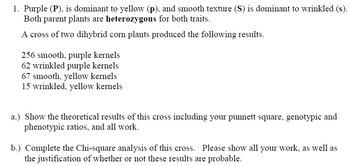 Corn Genetics Lab e-learning packet