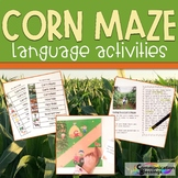 Corn Maze Language Activities
