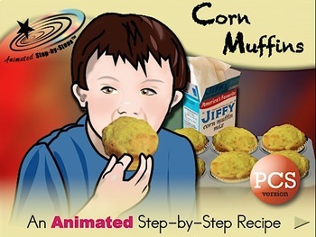 Corn Muffins - Animated Step-by-Step Recipe PCS