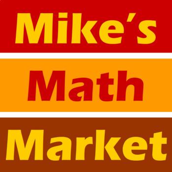 Corn Stalk - A Math-Then-Graph Activity - Finding Vertices