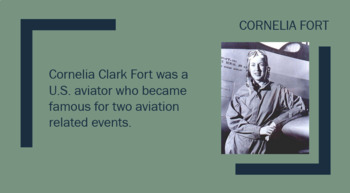 Cornelia Fort WASP Pilot PowerPoint
