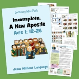 Cornelius Kidmin Lesson & Bible Crafts - Acts 10