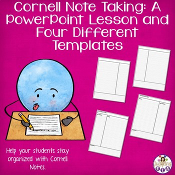 Cornell Note Taking A Powerpoint Lesson And Four Different Templates