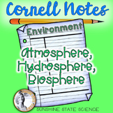 Cornell Notes Atmosphere, Hydrosphere, Biosphere
