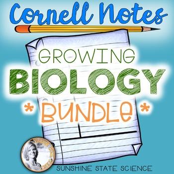 Cornell Notes BIOLOGY BUNDLE