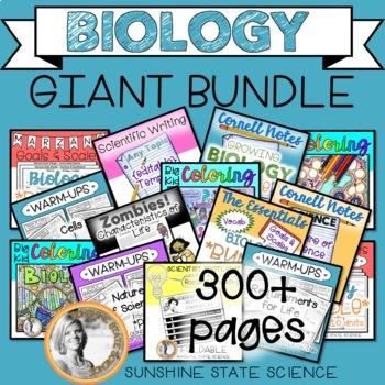 GIANT BIOLOGY BUNDLE  (*growing*)