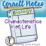 Cornell Notes Characteristics of Life